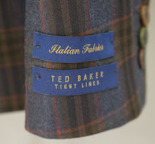 "Load image into Gallery viewer, New TED BAKER Mens SABINES Checked BLAZER / JACKET - Size 40R - Chest 40"" - BNWT"