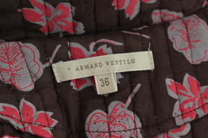 ARMAND VENTILO Ladies Embroidered Detail COAT / JACKET Size FR 36 - UK 8 - IT 40