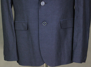 New TED BAKER Mens POPPING Linen Blend Blazer / Tailored Jacket Ted Size 5 - XL Extra Large