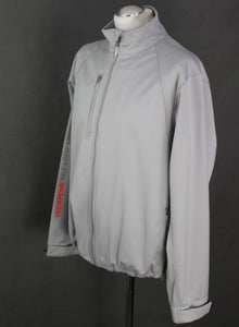 VODAFONE McLAREN MERCEDES F1 Mens Silver Soft Shell JACKET / COAT - Size Large L