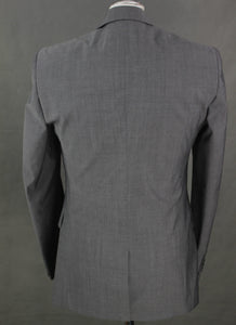 "New TED BAKER Mens LOTJAC Grey MOHAIR Blend BLAZER / Tailored Jacket Size 36R - 36"" Chest - Small S"