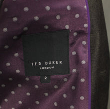 "Load image into Gallery viewer, New TED BAKER Mens YONKERS Wool BLAZER / Tailored Jacket Ted Size 2 - 36"" Chest"