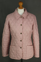 Load image into Gallery viewer, BARBOUR Ladies SHAPED FLYWEIGHT QUILT SHORT Quilted JACKET / COAT - Size UK 12