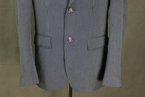 "HOLLAND ESQUIRE Mens HAND CUSTOMISED Linen Blend BLAZER / JACKET -  Size IT 50 - UK 40"" Chest"