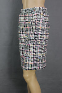 BOUTIQUE MOSCHINO Ladies Bouclé Tweed PENCIL SKIRT Size IT 38 - UK 6
