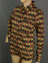Load image into Gallery viewer, New ISABEL MARANT ÉTOILE Multicoloured GAETAN PRINT SHIRT Size FR 36 - UK 8 BNWT