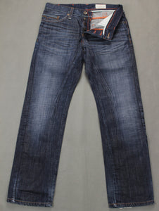 "HUGO BOSS Mens Blue Denim HB104.2 Regular Fit JEANS - Size Waist 32"" - Leg 32"""