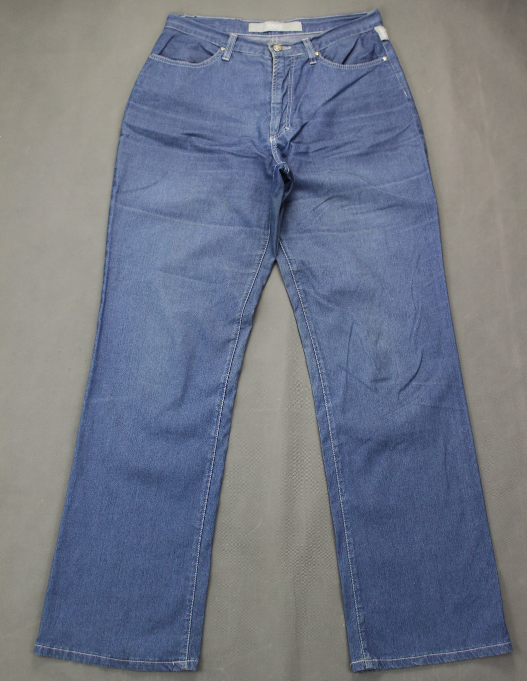 VERSACE JEANS COUTURE VJC Ladies Blue Denim Bootcut JEANS - Size IT 46 - UK 14
