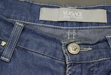 Load image into Gallery viewer, VERSACE JEANS COUTURE VJC Ladies Blue Denim Bootcut JEANS - Size IT 46 - UK 14