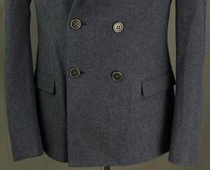 ICE ICEBERG Mens Navy Blue PEA COAT - Size IT 50 / Large L