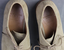 Load image into Gallery viewer, COACH Mens Lace-Up GILBERT Suede SHOES Size UK 9 - EU 43 - US 10D