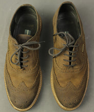 Load image into Gallery viewer, BARBOUR Mens Brown Lace-Up Brogues SHOES Size UK 7 - EU 42