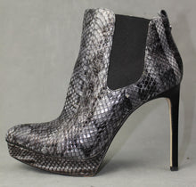Load image into Gallery viewer, MICHAEL KORS Snakeskin Stiletto Heel ANKLE BOOTS Size US 9.5 - UK 7.5 - EU 40.5