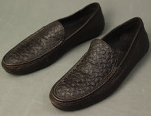 Load image into Gallery viewer, COACH Mens JAKE Brown Monogram LOAFERS / SHOES Size UK 10.5 - EU 44.5 - US 11.5M