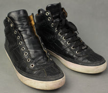 Load image into Gallery viewer, JIMMY CHOO Mens Black High Top Trainers / Casual Shoes - Size EU 42 - UK 8