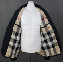 Load image into Gallery viewer, BURBERRY BRIT Mens Navy Blue SPORTS JACKET with Nova Check Lining Size XXL - 2XL