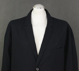 BURBERRY BRIT Mens Navy Blue SPORTS JACKET with Nova Check Lining Size XXL - 2XL