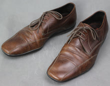 Load image into Gallery viewer, PRADA Mens Brown Leather Oxford Lace-Up SHOES - Size UK 6 - EU 40