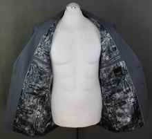 "Load image into Gallery viewer, New TED BAKER PASHION Grey Wool & Silk Blend JACKET / BLAZER Size 44R 44"" Chest"