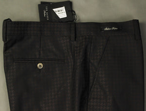 "New TED BAKER PASHION Mens RAFAELT Brown Jacquard TROUSERS Size 36R - Waist 36"" BNWOT"