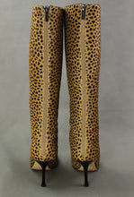 Load image into Gallery viewer, JIMMY CHOO Animal Print High Heeled Knee High BOOTS - Size EU 38.5 / UK 5.5