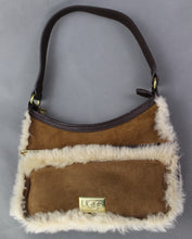 Load image into Gallery viewer, UGG Australia Brown Real Dyed Shearling Sheepskin HANDBAG - UGGS Bag