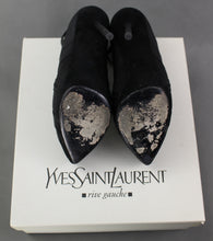 Load image into Gallery viewer, YVES SAINT LAURENT RIVE GAUCHE DIVINE 105 ANKLE BOOTS Size EU 36 - UK 3