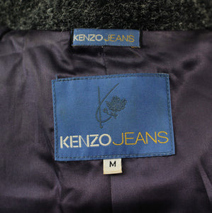 KENZO JEANS Ladies Grey COAT / JACKET - Size Medium - M