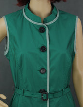Load image into Gallery viewer, AQUASCUTUM Ladies Green Showerproof Mac Style DRESS - Size UK 14 - IT 46