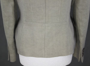 HOBBS London Ladies 100% Flax Finest Italian Cloth JACKET - Size UK 12