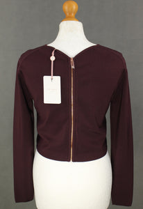 New TED BAKER Ladies CAILIE BACK DETAIL CROP TOP - Ted Size 4 - UK 14 - LARGE L