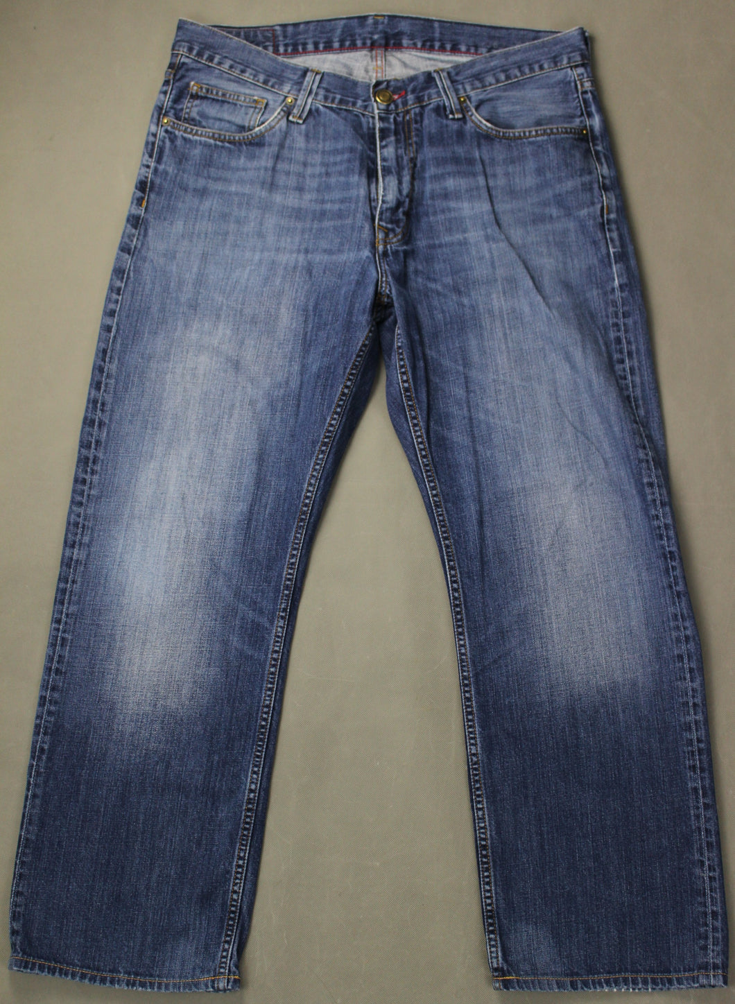 TOMMY HILFIGER Mens Blue Denim MADISON JEANS Size Waist 36