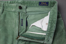 "Load image into Gallery viewer, POLO RALPH LAUREN Mens Green CORDUROY Slim Fit JEANS Size Waist 32"" - Leg 31"""