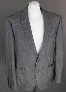 "HUGO BOSS Mens JANSON Virgin Wool & Cotton Blend SPORTS JACKET / BLAZER Size IT 50 - UK 40"" Chest"
