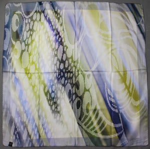 100% SILK SCARF - 87cm x 87cm - Made in Italy