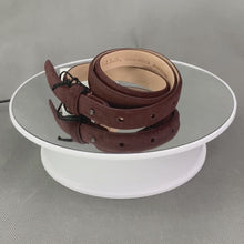 Load and play video in Gallery viewer, New PAUL SMITH Ladies THUMBLETINA Italian Leather BELT - Size Small - S - 70cm