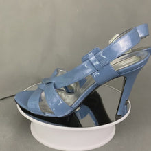Load and play video in Gallery viewer, STELLA McCARTNEY Blue Strappy High Heel Sandals Size 36 - UK 3
