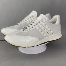 Load and play video in Gallery viewer, PHILIPP PLEIN Mens White Trainers / Shoes - Size EU 44 - UK 10