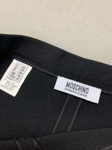 New MOSCHINO CHEAPandCHIC Ladies Black Sequinned TROUSERS Size IT 42 - UK 10 BNWT