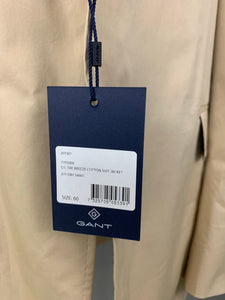 "New GANT Mens THE BREEZE Cotton BLAZER / SPORTS JACKET - Size IT 60 / UK 50"" Chest"