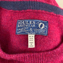 Load image into Gallery viewer, JOULES Ladies Dog Graphic Knitted JUMPER Size UK 10 - Small S