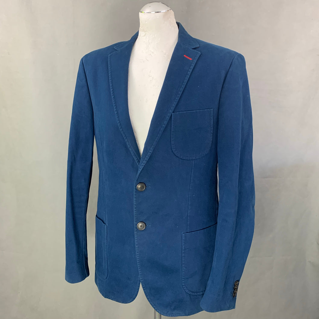 GANT Mens Blue BLAZER / SPORTS JACKET Size IT 50 - 40