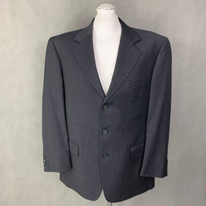 "VALENTINO Mens Grey Wool 2 PIECE SUIT Size 41"" Chest - W36 L30"