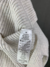 Load image into Gallery viewer, LOUNGE The WHITE COMPANY Grey CASHMERE Blend JUMPER - Size M Medium