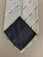 Load image into Gallery viewer, GIORGIO ARMANI CRAVATTE Mens Blue 100% Silk TIE - Made in Italy