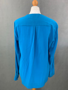 HUGO BOSS Ladies ROSALINE 100% Silk BLOUSE / SHIRT - Size UK 8 - IT 40