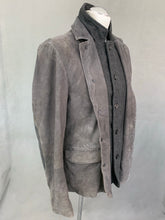Load image into Gallery viewer, ALLSAINTS Mens SURVEY LEATHER BLAZER JACKET / COAT - Size M Medium