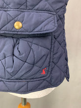 Load image into Gallery viewer, JOULES Ladies Navy Quilted GILET Size UK 16 - XL Extra Large