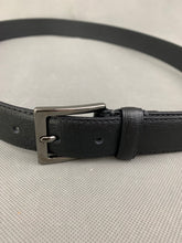 "Load image into Gallery viewer, REISS Black 100% Leather BELT - Size 32"" Waist"