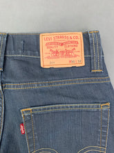 "Load image into Gallery viewer, LEVI STRAUSS &Co Blue Denim LEVI'S 511 JEANS Size Waist 30"" Leg 31"" LEVIS"